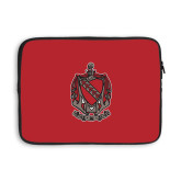 13 inch Neoprene Laptop Sleeve-Coat of Arms