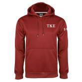 Under Armour Cardinal Performance Sweats Team Hood-TKE