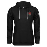 Adidas Climawarm Black Team Issue Hoodie-Coat of Arms