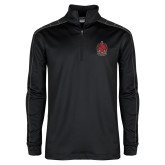Nike Golf Dri Fit 1/2 Zip Black/Grey Pullover-Coat of Arms