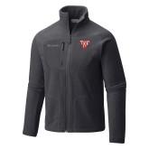 Columbia Full Zip Charcoal Fleece Jacket-Houseplate