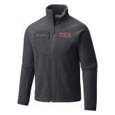 Columbia Full Zip Charcoal Fleece Jacket-TKE