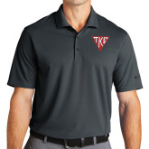 Nike Golf Dri Fit Charcoal Micro Pique Polo-Houseplate