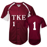 Replica Cardinal Adult Baseball Jersey-#1