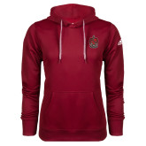 Adidas Climawarm Cardinal Team Issue Hoodie-Coat of Arms
