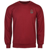 Cardinal Fleece Crew-Coat of Arms