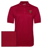 Cardinal Dry Mesh Polo-Order of the Shield