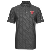 Nike Dri Fit Charcoal Embossed Polo-Houseplate