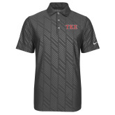 Nike Dri Fit Charcoal Embossed Polo-TKE