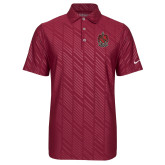 Nike Dri Fit Cardinal Embossed Polo-Coat of Arms