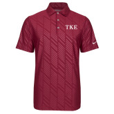 Nike Dri Fit Cardinal Embossed Polo-TKE