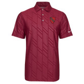 Nike Dri Fit Cardinal Embossed Polo-Order of the Shield