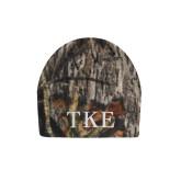 Mossy Oak Camo Fleece Beanie-TKE