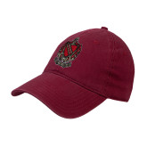 Cardinal Twill Unstructured Low Profile Hat-Coat of Arms