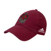 Adidas Cardinal Slouch Unstructured Low Profile Hat-Coat of Arms