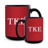 Full Color Black Mug 15oz-TKE