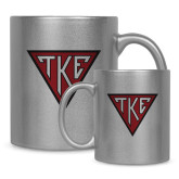 11oz Silver Metallic Ceramic Mug-Houseplate