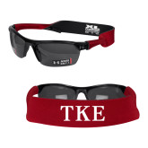 Croakies Cardinal Wide Band Sunglasses Strap-TKE
