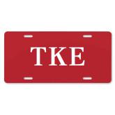 License Plate-TKE