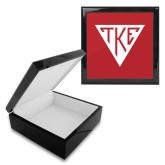 Ebony Black Accessory Box With 6 x 6 Tile-Houseplate