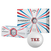 Callaway Supersoft Golf Balls 12/pkg-TKE