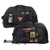 Urban Passage Wheeled Black Duffel-Houseplate