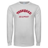 White Long Sleeve T Shirt-Alumni