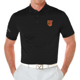 Callaway Opti Vent Black Polo-Interlocking TU