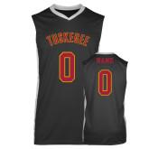 Replica Black Adult Basketball Jersey-Black Basketball Jersey