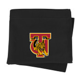 Black Sweatshirt Blanket-TU Warrior Symbol