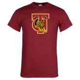 Cardinal T Shirt-TU Warrior Symbol