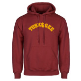 Cardinal Fleece Hoodie-Arched Tuskegee