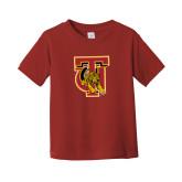 Toddler Cardinal T Shirt-TU Warrior Symbol