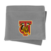 Grey Sweatshirt Blanket-TU Warrior Symbol