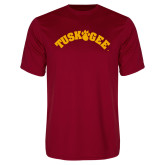 Performance Cardinal Tee-Arched Tuskegee