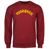 Cardinal Fleece Crew-Arched Tuskegee