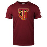 Adidas Cardinal Logo T Shirt-Interlocking TU