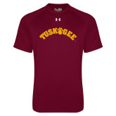 Under Armour Maroon Tech Tee-Arched Tuskegee