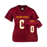 Ladies Cardinal Replica Football Jersey-Cardinal Football Jersey