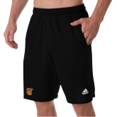 Adidas Black Clima Tech Pocket Short-TU Warrior Symbol
