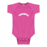 Fuchsia Infant Onesie-Arched Tuskegee