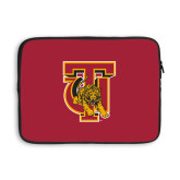13 inch Neoprene Laptop Sleeve-TU Warrior Symbol