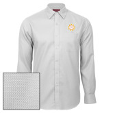 Red House White Diamond Dobby Long Sleeve Shirt-Alumni Association