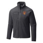 Columbia Full Zip Charcoal Fleece Jacket-TU Warrior Symbol