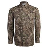 Camo Long Sleeve Performance Fishing Shirt-Arched Tuskegee