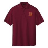 Cardinal Easycare Pique Polo-Interlocking TU