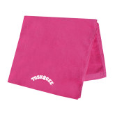 Pink Beach Towel-Arched Tuskegee