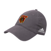 Adidas Charcoal Slouch Unstructured Low Profile Hat-TU Warrior Symbol
