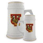 Full Color Decorative Ceramic Mug 22oz-TU Warrior Symbol