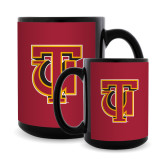 Full Color Black Mug 15oz-Interlocking TU